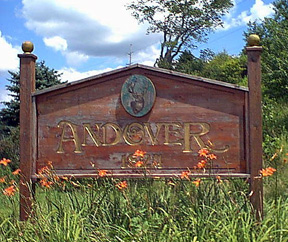 Andover Town Sign